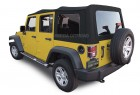 Jeep Wrangler JK Canvas Soft Top PN 10-40-JK20709-90