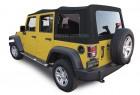 Jeep Wrangler JK Canvas Soft Top PN 10-40-JK20709-90