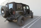 2007-2009 Jeep Wrangler JK with Canvas Soft Top