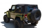 2008 Jeep Wrangler JK with Black Diamond Soft Top